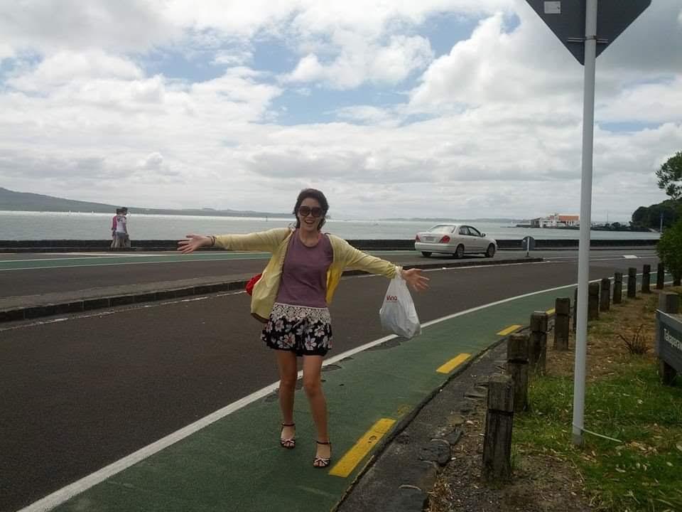 ニュージーランド海辺