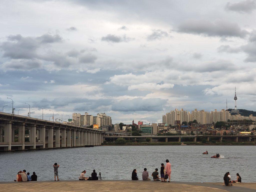漢江の景色