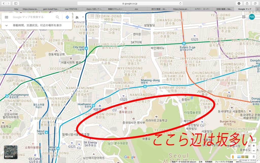ソウル地図